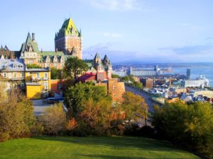 Quebec City in Quebec Canada