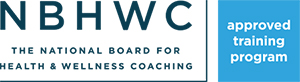 National Board for Health and Wellness Coaching Approved Training Program Seal